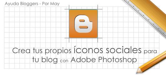 Crea tus propios íconos sociales para tu blog con Adobe Photoshop