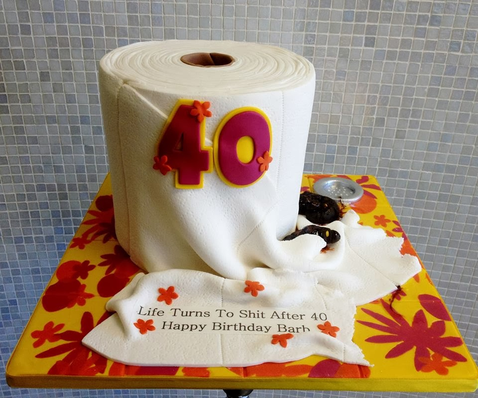 Creative 40th birthday cake ideas crafty morning for 40 year old birthday decoration ideas