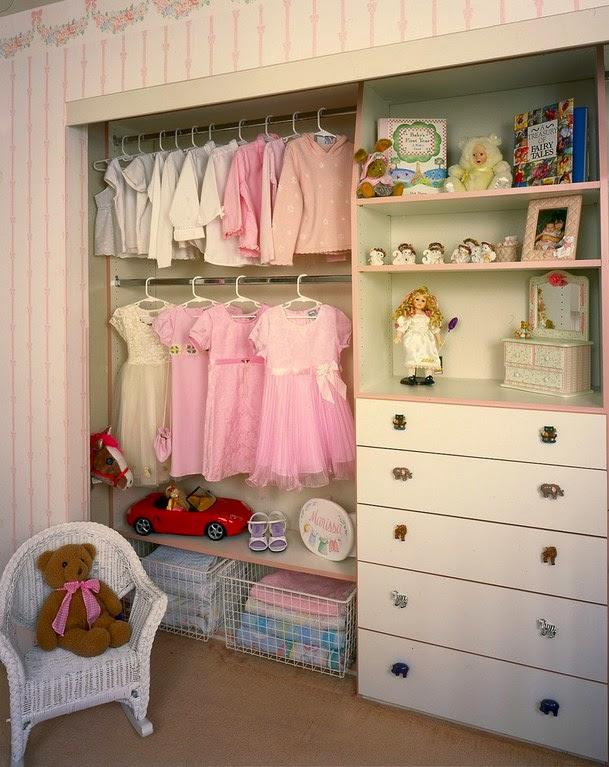 Платяной шкаф для девочки своими руками
