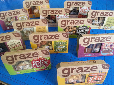 Graze healthy snack packs in shops now