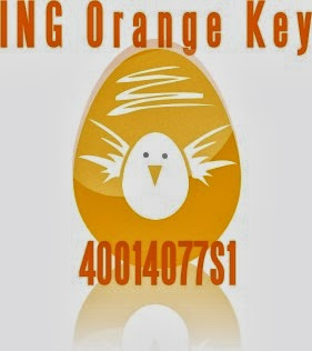 ING Direct Orange Key