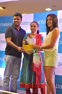 Priya Anand  Pictures in Shorts at Pantaloons Store Launch  19.jpg