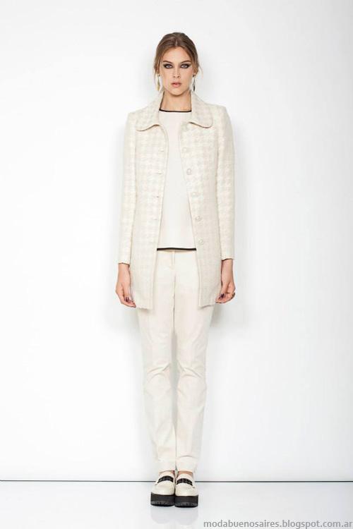 Janet Wise invierno 2014 sacos y abrigos de vestir invierno 2014