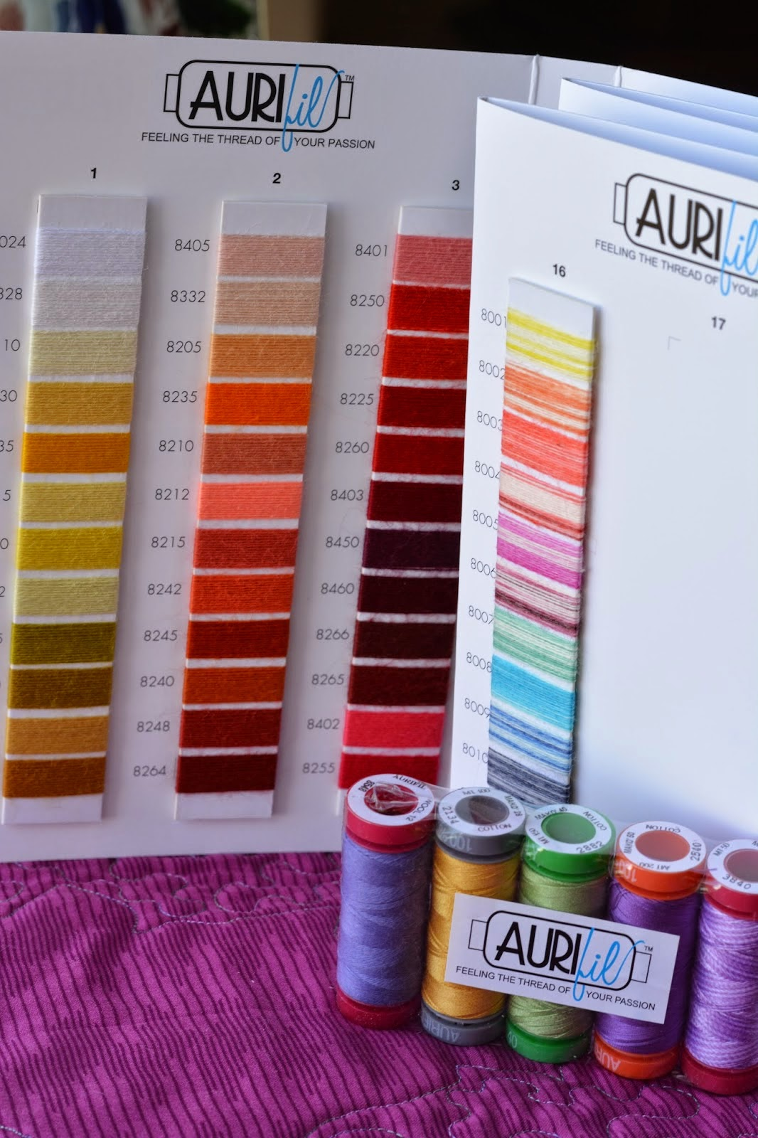 aurifil wool thread