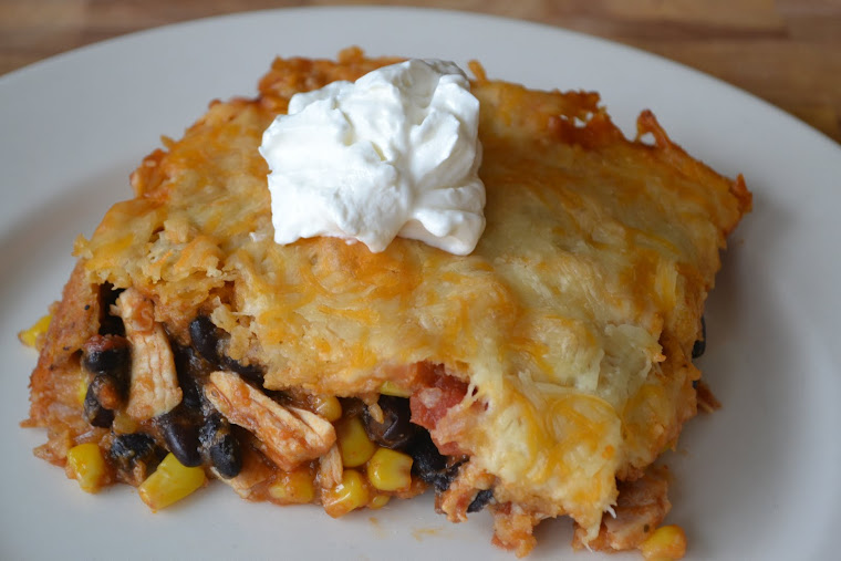Chicken and Black Bean Bake