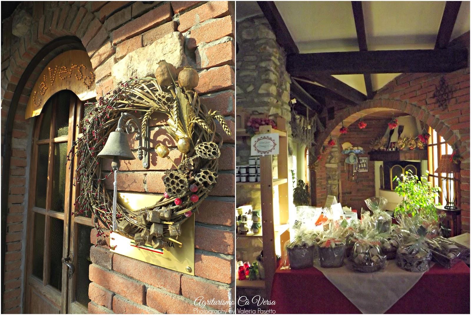 Agriturismo c versa il natale al casale preparativi e for Alberelli ornamentali