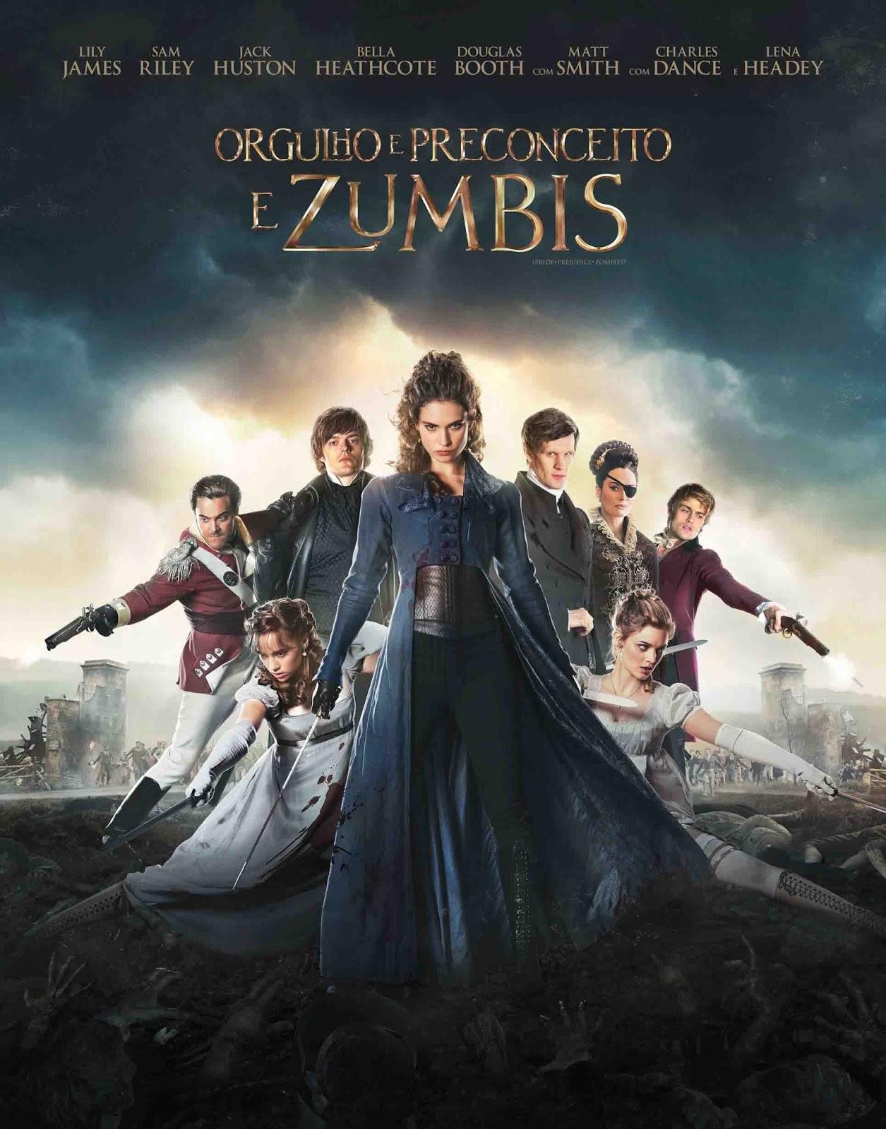 Orgulho e Preconceito e Zumbis Torrent - Blu-ray Rip 720p e 1080p Dublado (2016)