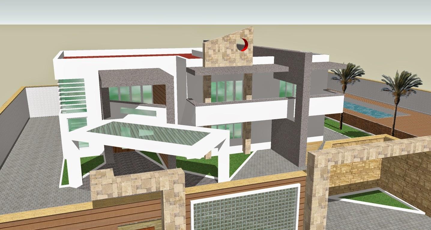 Futuras arquitectas for Casa moderna sketchup download
