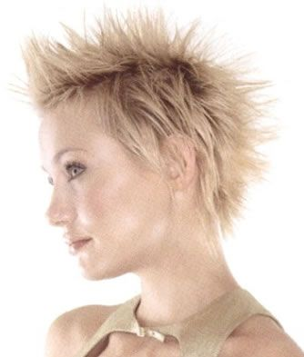 short punk girl hairstyles. New Punk Short Hairstyles 2011