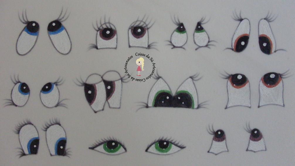 Detalhes Dos Modelos De Olhos