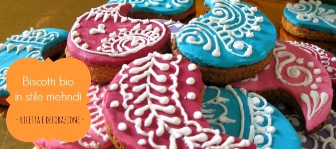 biscotti in stile mehndi con procedimento