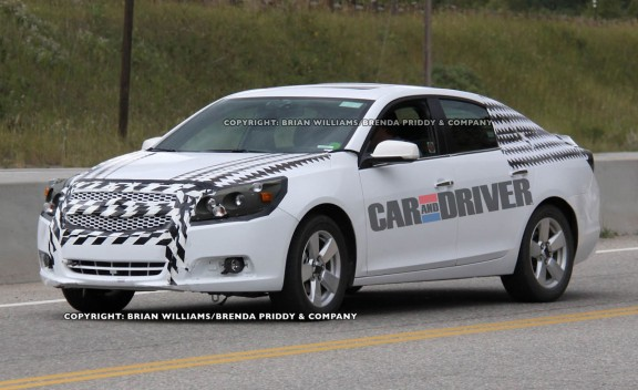 Spy Photos: 2012 Chevrolet Malibu