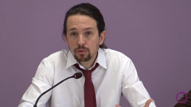 Pablo Iglesias analiza el escenario tras elecciones generales (Vídeo)