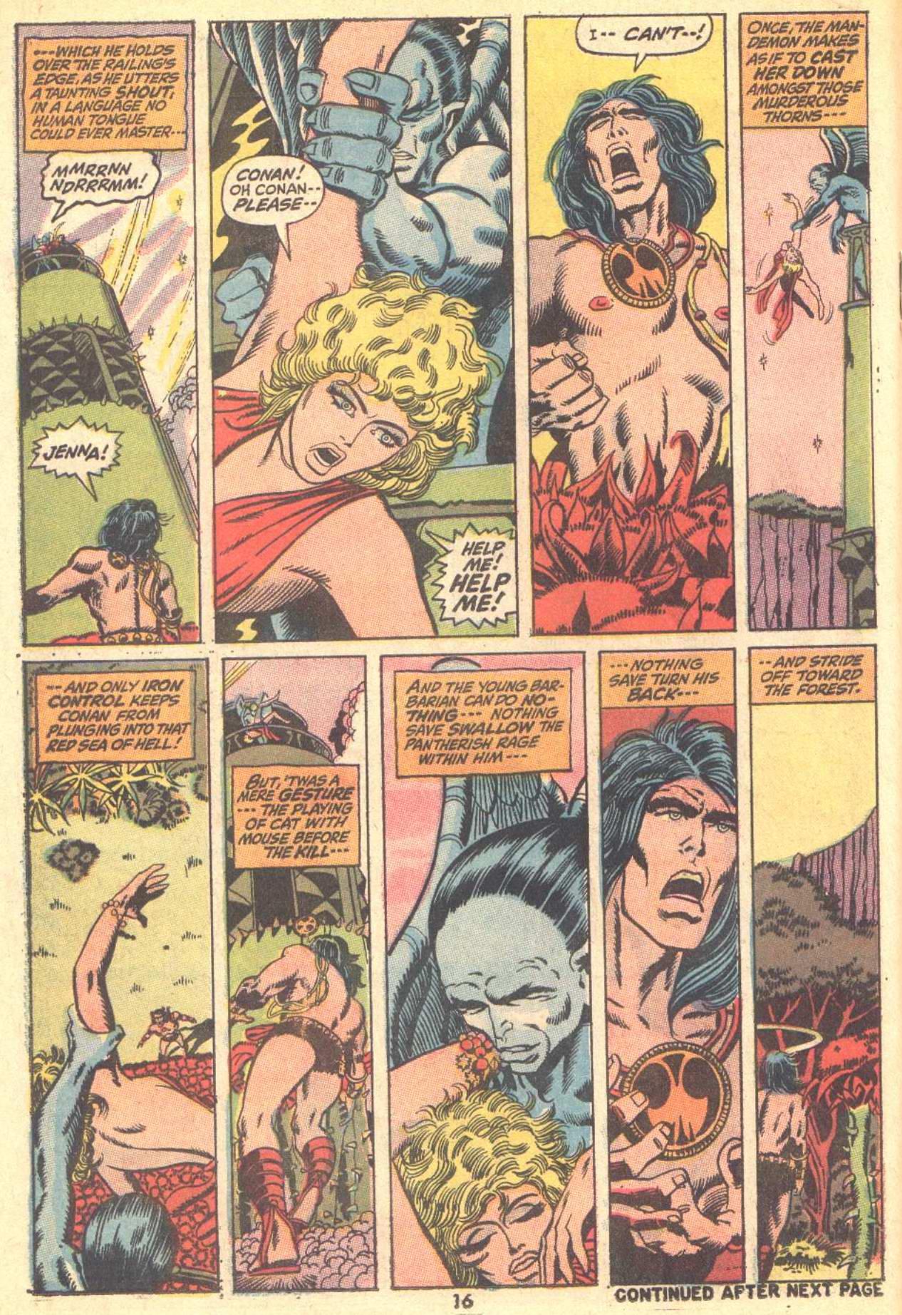 Conan the Barbarian (1970) Issue #9 #21 - English 13