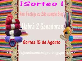 CUMPLE BLOG Y SORTEO en lo de ROXI♥