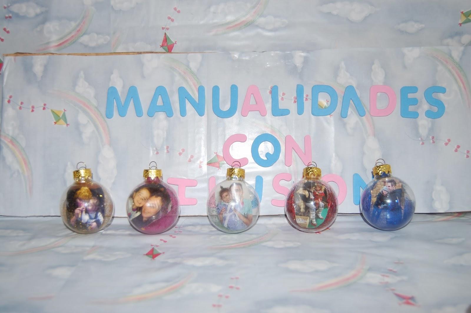 Manualidades con ilusion bolas de navidad personalizadas - Manualidades bolas de navidad ...