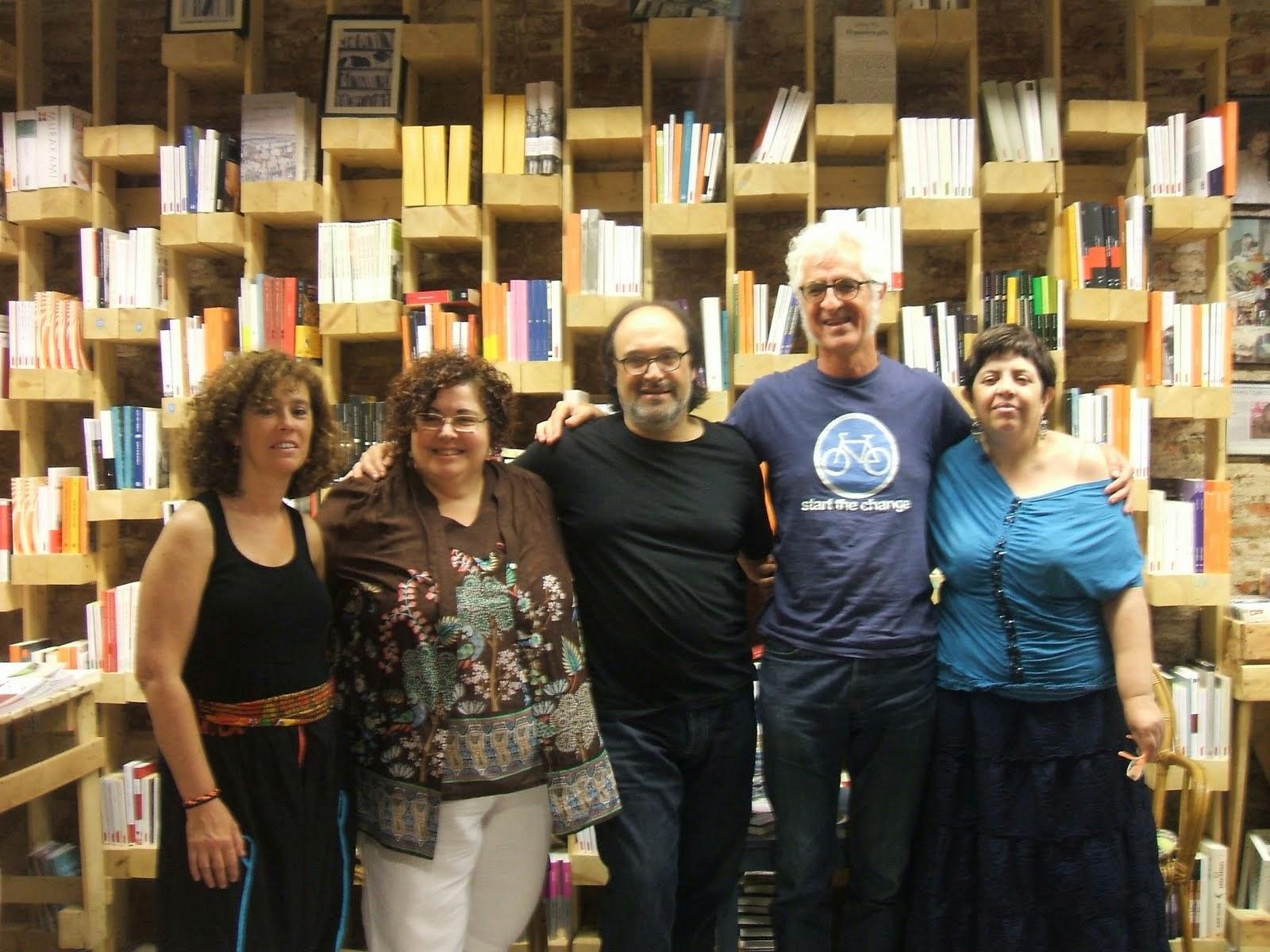 A la llibreria ONA 19 de juny 14