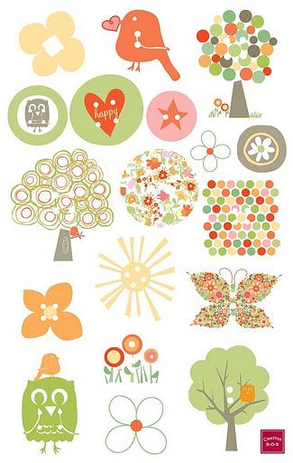 ... para imprimir animalitos cositas de pequenos pegatinas infantiles para