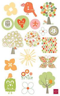 Stickers children to print