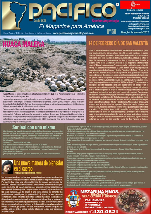 Revista Pacifico Nº50 Arqueología