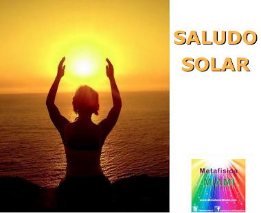 Saludo solar