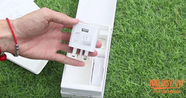Mở hộp Samsung Galaxy S6 2 sim