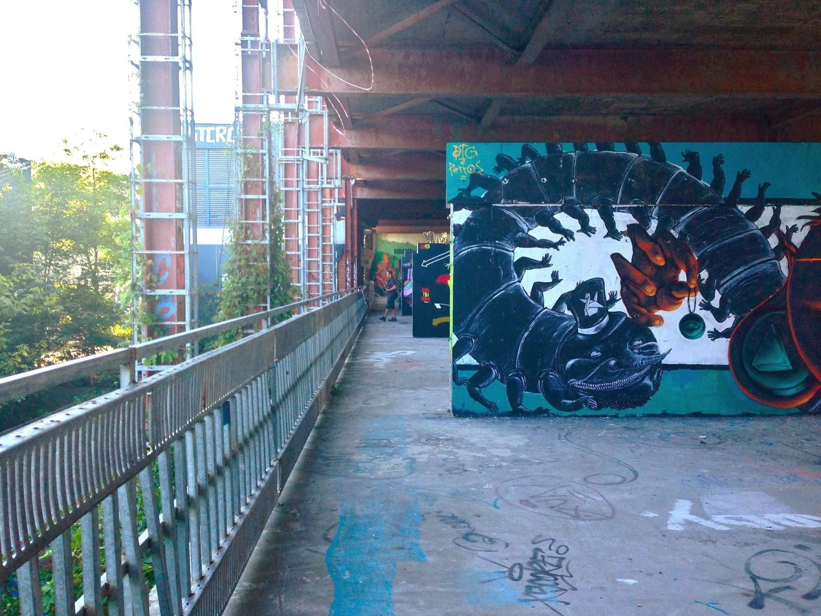 Teufelsberg Panorama Aussicht Berlin NSA Berg Grunewald Street Art Graffiti