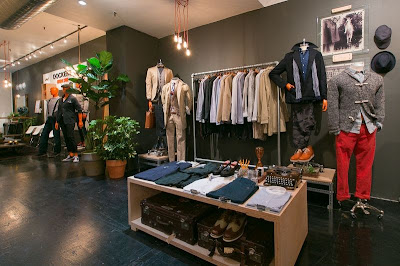 Pop-Up store, New York, Alpha Khaki, Levi's Strauss, Soho,