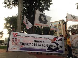 OBAMA: ¡LIBERTAD PARA LOS 5 YA!!!