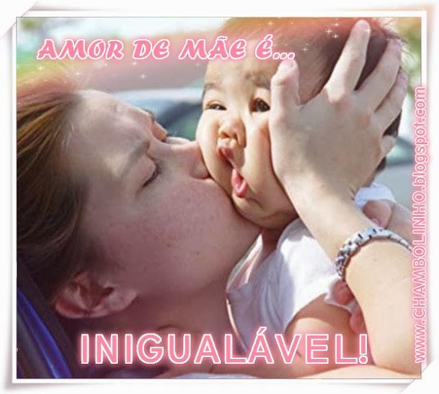 Recadinho Amor de Mãe para Facebook