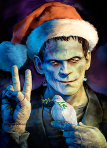 Something wicKED this way comes....: Monstrous Christmas! (Day 12 ...