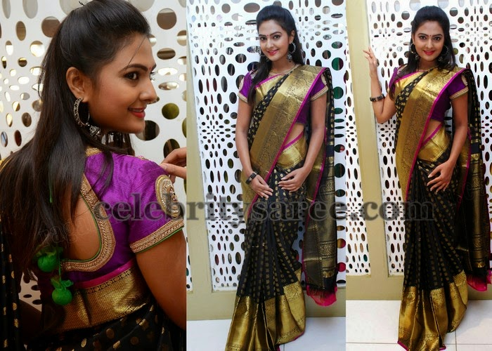 Neha Deshpande Bridal Silk Saree