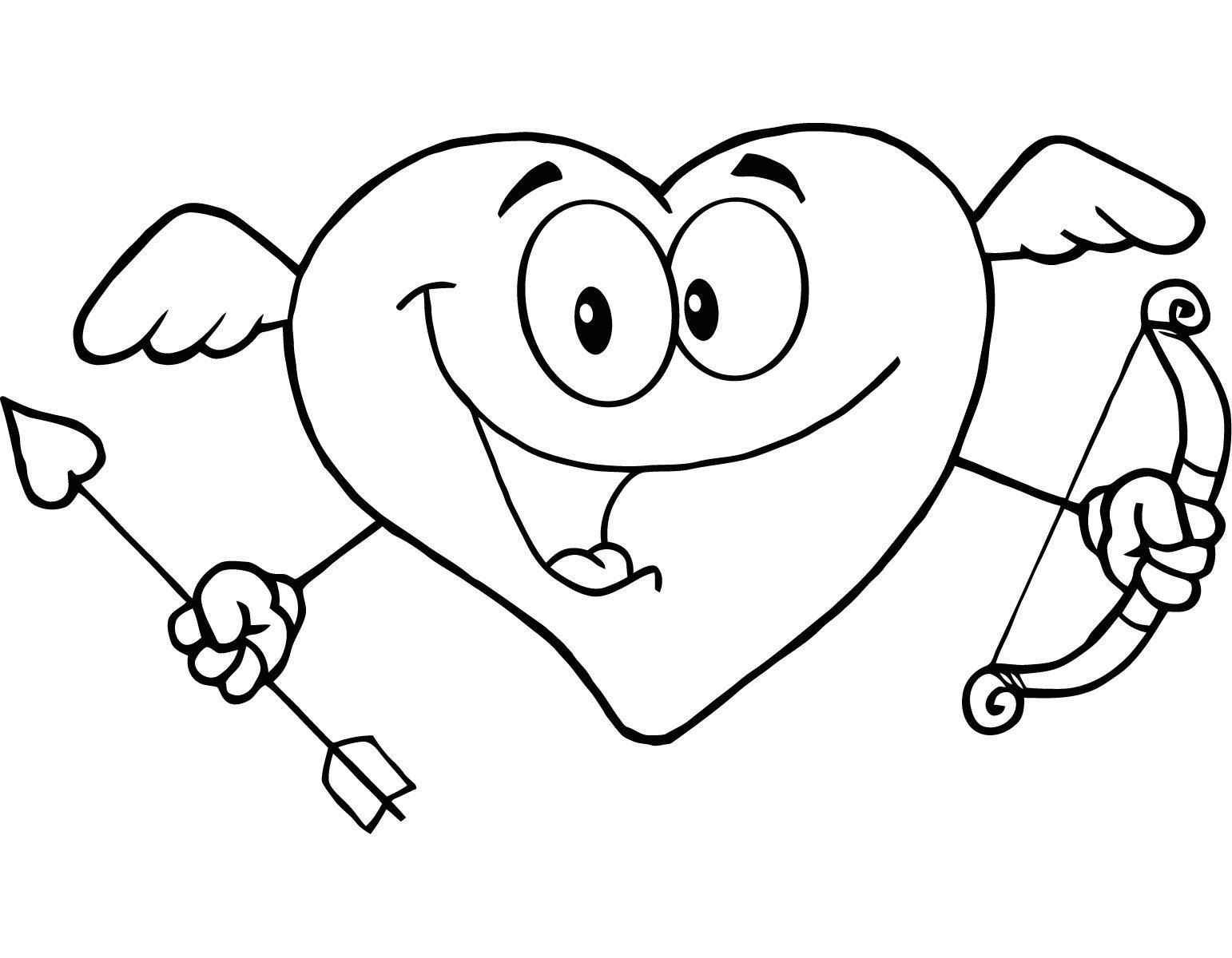 Imagenes de corazones de amor para colorear   Imprimir   Imagenes ...