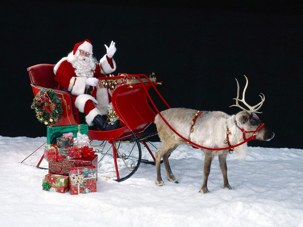 Hope you are satisfied with the pictures of Santa Claus, now tell me