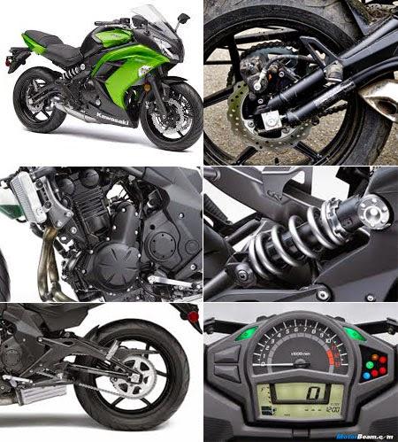 Gambar Motor Ninja 650  &  Fiturnya