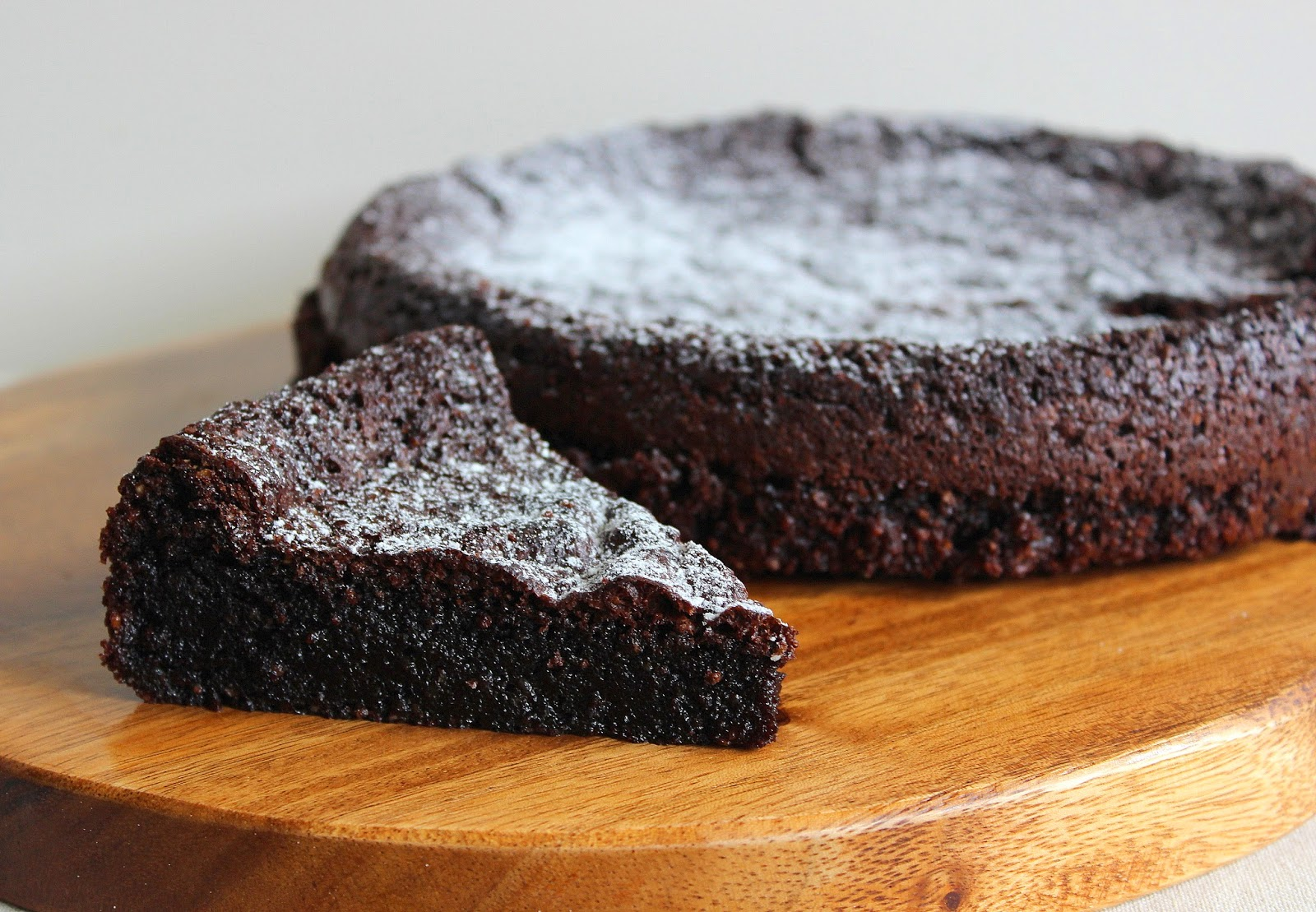 Vegan belgian chocolate cake recipe