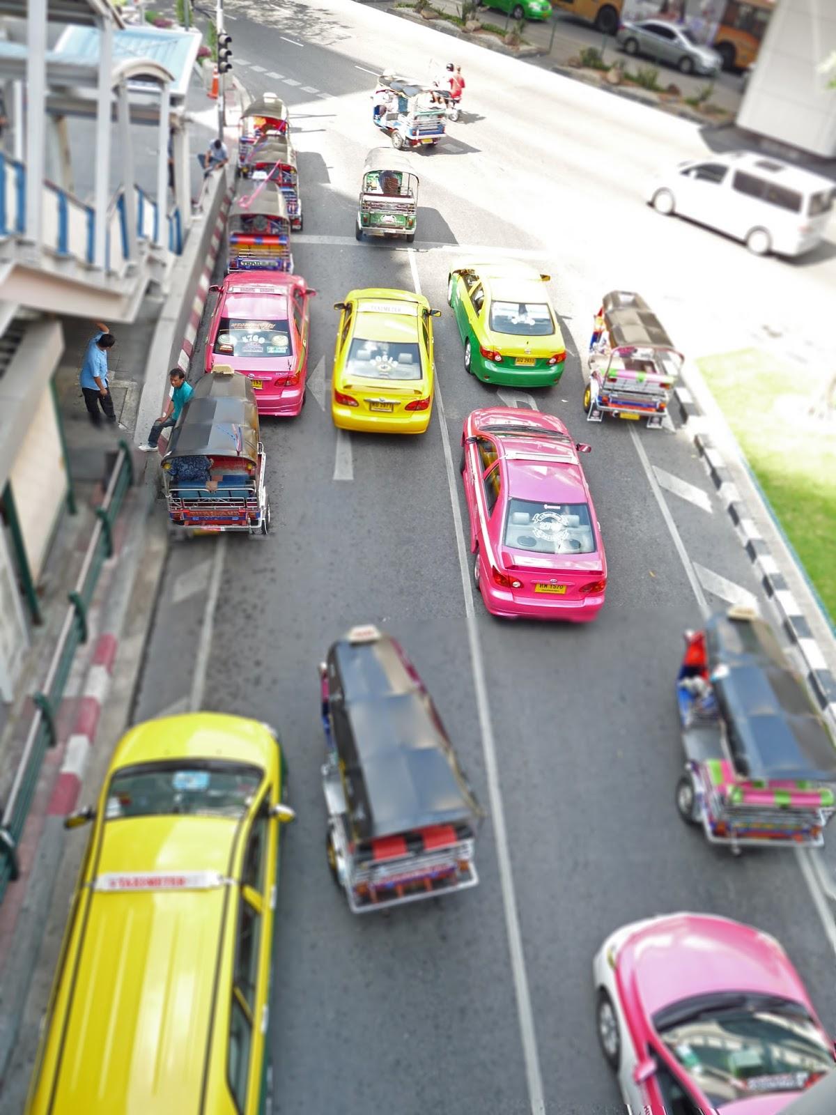 Thailand Taxi Cabs