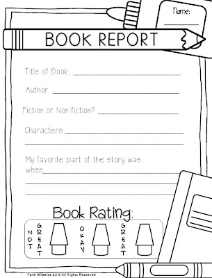 Custom book report