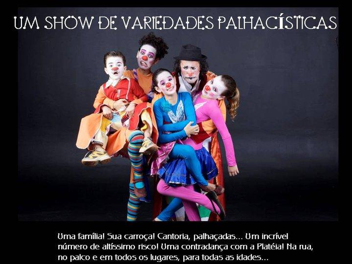 UM SHOW DE VARIEDADES PALHACÍSTICAS