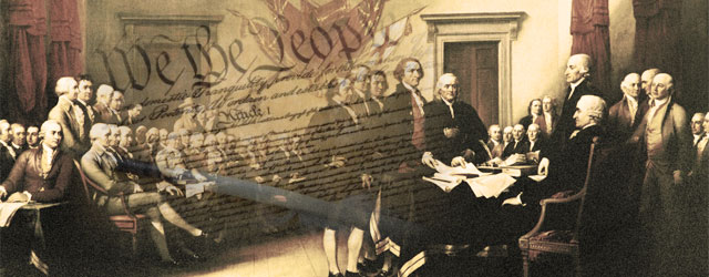the undertaking of the us constitution by the founding fathers The constitution is outdated let's change it when they wrote the constitution, the founding fathers had no foresight into gay marriage and ipods and 9/11 and cars and lunatics shooting people in shopping malls and that the in order to be president of the united states.
