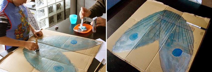 Taller de Creactividad: 2 Disfraces de cartón reciclado6