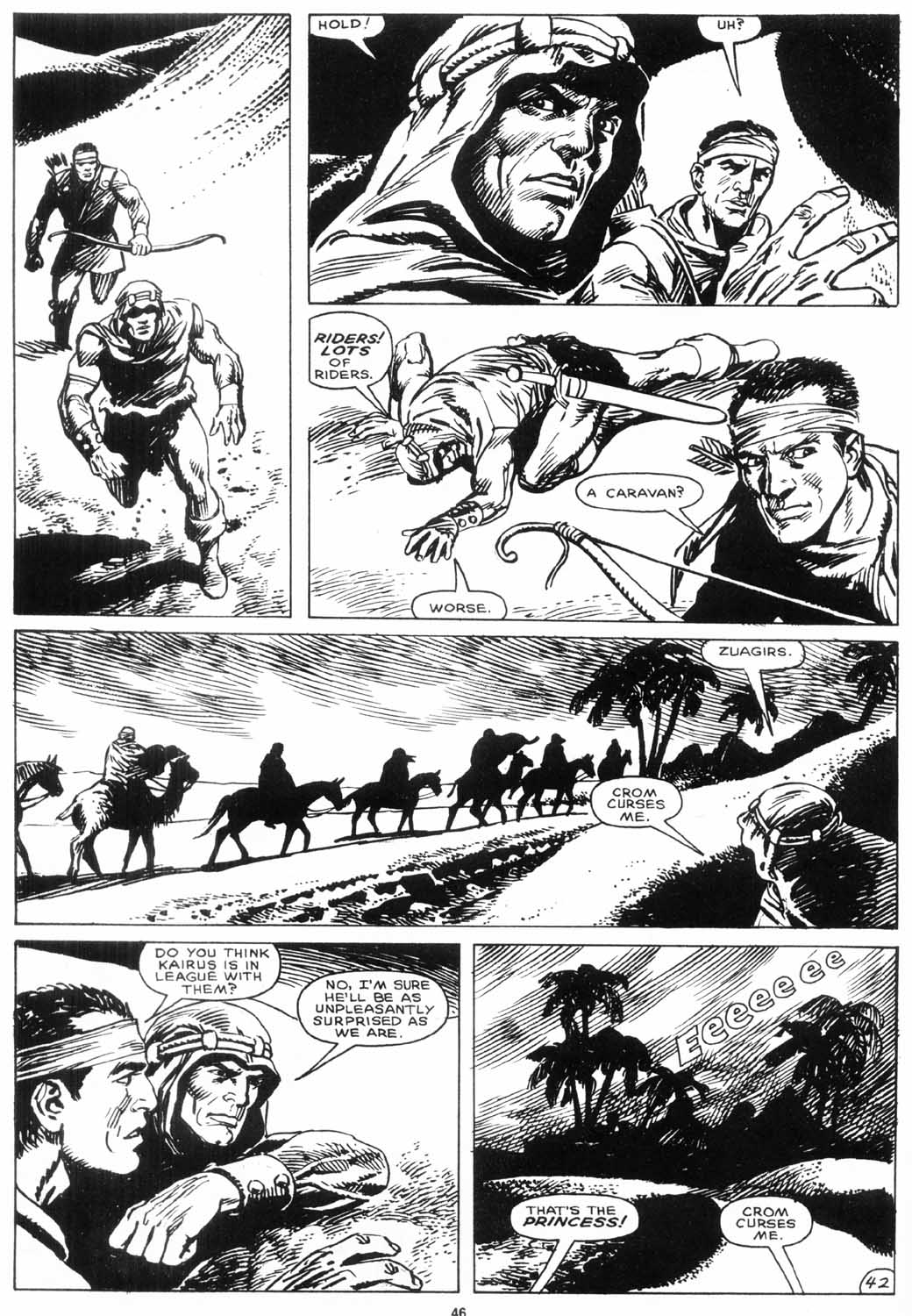 The Savage Sword Of Conan Issue #156 #157 - English 45