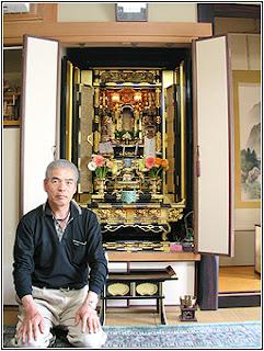 Butsudan (Altar Budha) Agama di Mata orang Jepang