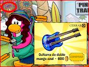 Secreto de conseguir una guitarra de mango azul