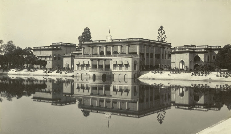 Darul Bahar, within the Dilkusha Gardens - Burdwan (Bardhaman), Bengal, 1904