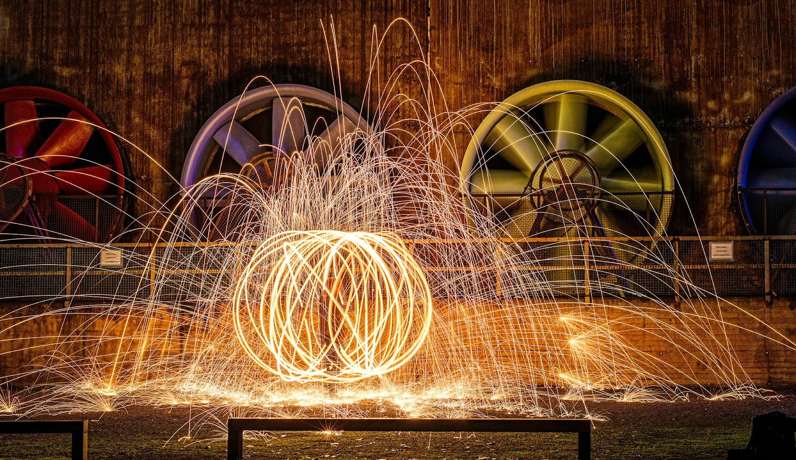 how to take steel wool photography