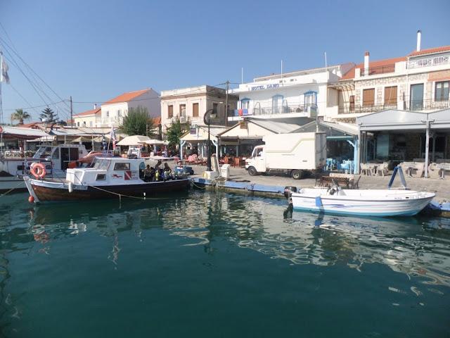 Hafen auf Samos