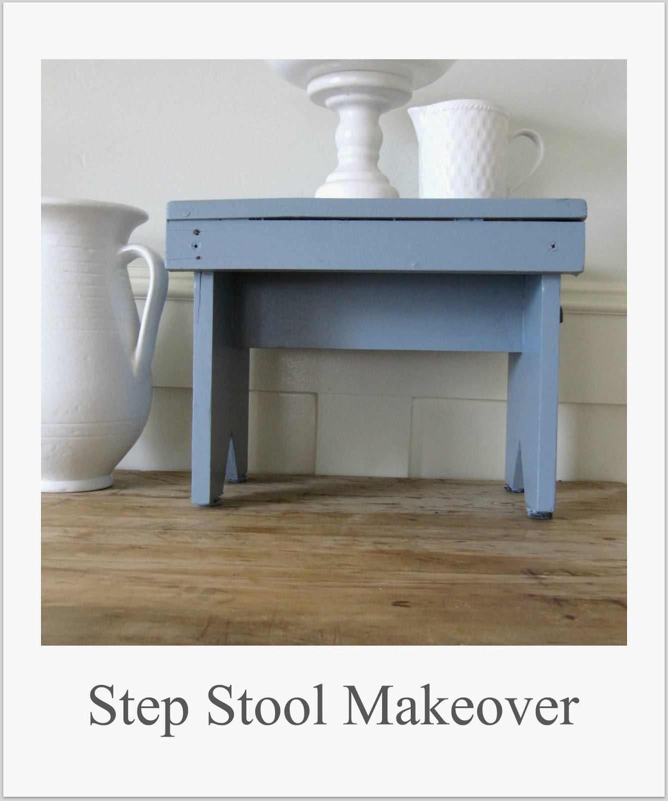 http://thewickerhouse.blogspot.com/2014/01/step-stool-makeover.html