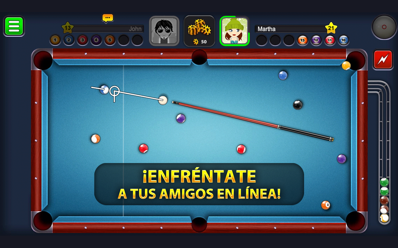 8 ball pool para android