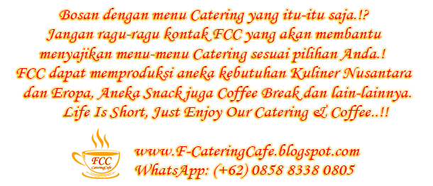 Catering Service & Coffee Break